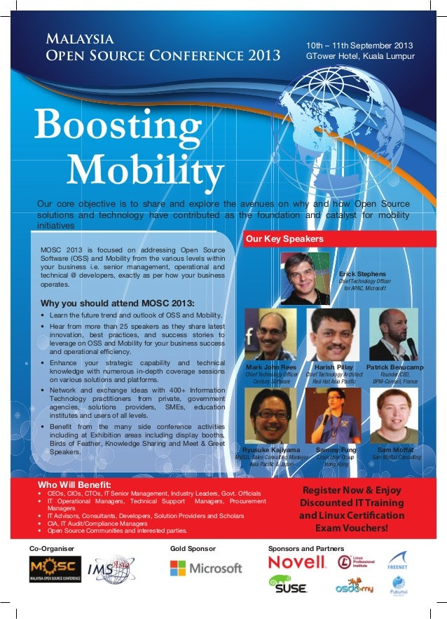 10th – 11th September 2013 GTower Hotel, Kuala Lumpur Our core objective is to share and explore the avenues on why and ho...