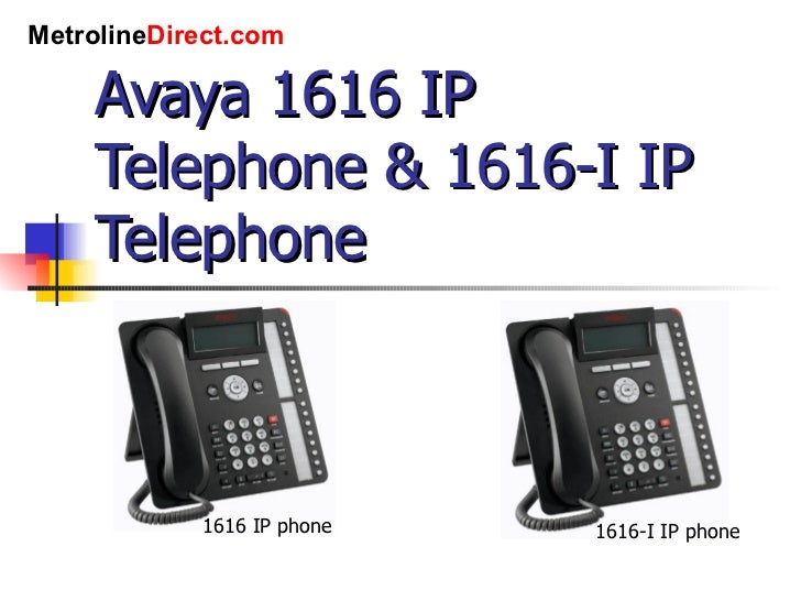 avaya 1608 ip phone manual