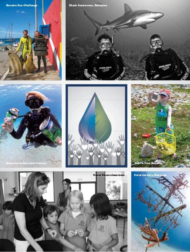 Shark Awareness, BahamasBonaire Eco-Challenge Bahamas underwater cleanup Debris Free Bonaire Coral nursery, BahamasCosta R...