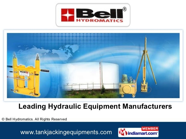 Leading Hydraulic Equipment Manufacturers