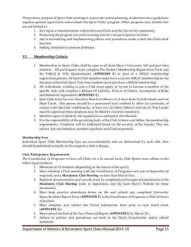 non profit organization policies and procedures manual