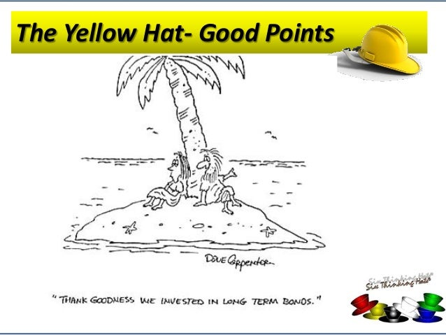 Closing Activity Summary 22 Summary Of Edwards De Bonos Six Thinking Hats