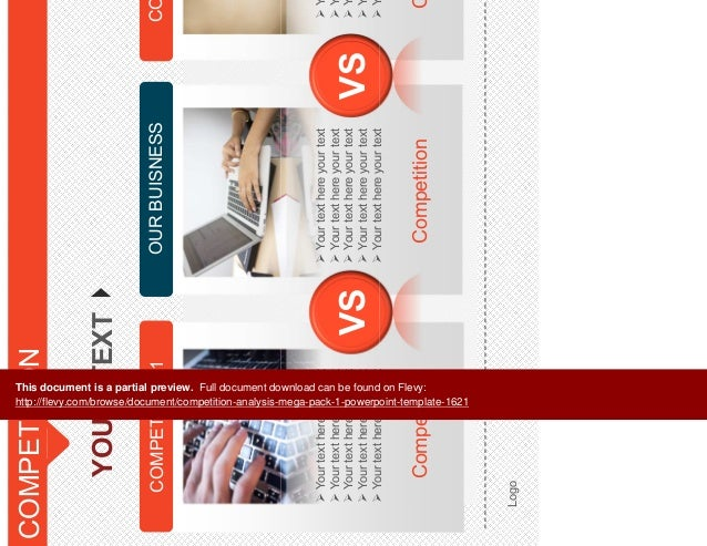 competition analysis mega pack 1 powerpoint template