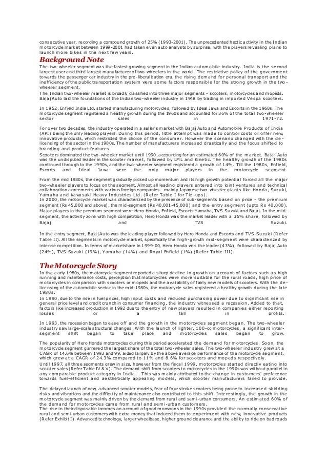 thorr motorcycles case analysis For thorr motorcycles, inc to gain the younger market share it must have prices comparable to lower priced models that is also because the price often times is the thing that make the decision if it is not affordable there is no reason to even considering purchasing an item.