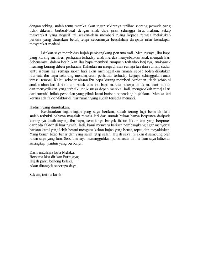 Contoh Karangan Berformat Surat Kiriman Rasmi Stpm Tkebaya