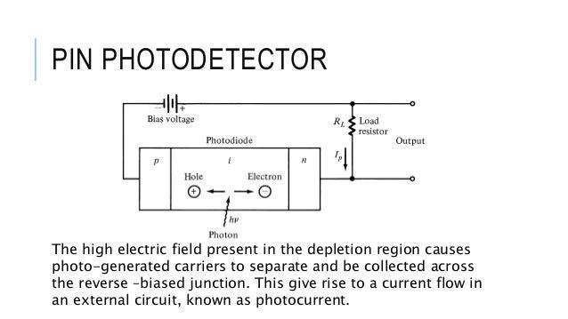 optical detector pin photodiode rh slideshare net 4 Prong Trailer Wiring Diagram 4 Pin Trailer Wiring Diagram Boat