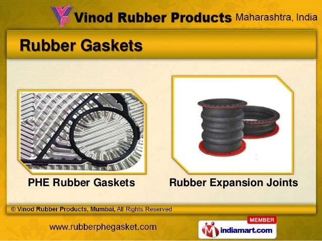 Rubber GasketsPHE Rubber Gaskets   Rubber Expansion Joints