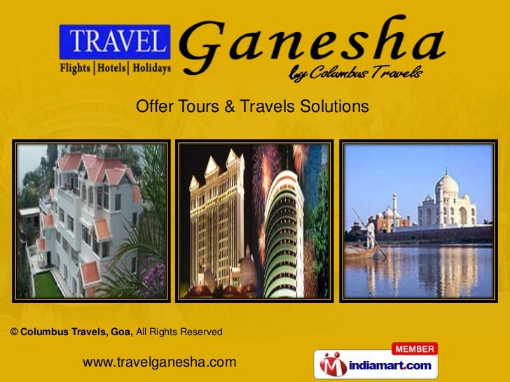 Offer Tours & Travels Solutions<br />