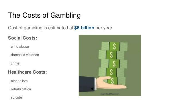 Gambling social cost sky vegas casino slots