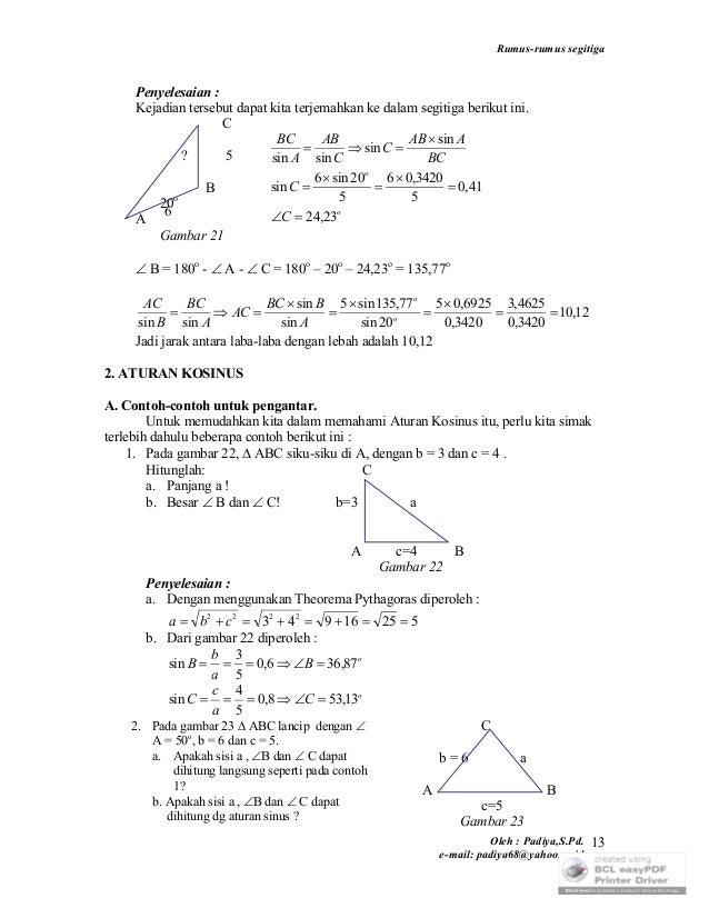 16309407 rumus-rumus-segitiga