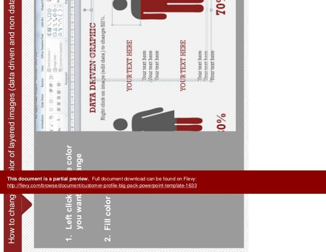customer profile big pack powerpoint template