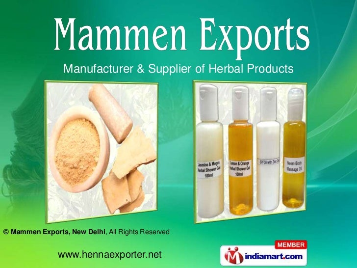 Manufacturer & Supplier of Herbal Products<br />