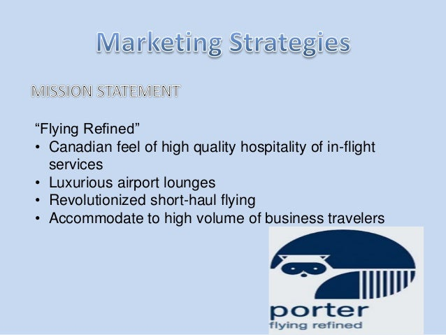 porter airlines case study