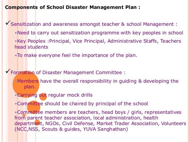 disaster management for schools National disaster management guidelines- school safety policy a publication of: national disaster management authority government of india ndma bhawan.