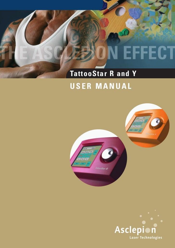 TattooStar R and YUSER MANUAL