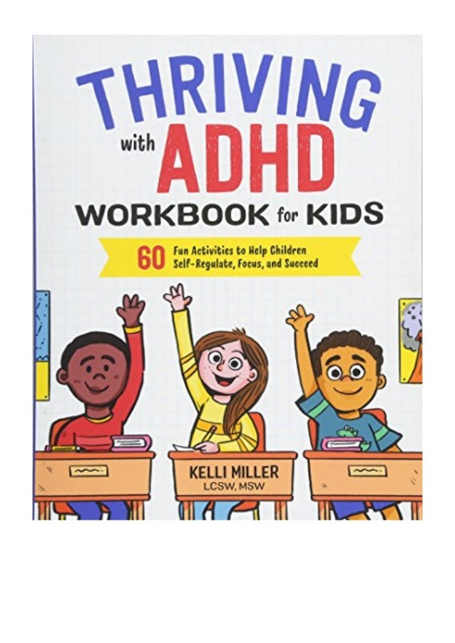 Thriving with ADHD Workbook for Kids PDF - Kelli Miller LCSW MSW 60 …