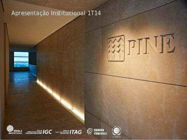 Apresentação Institucional 1T14