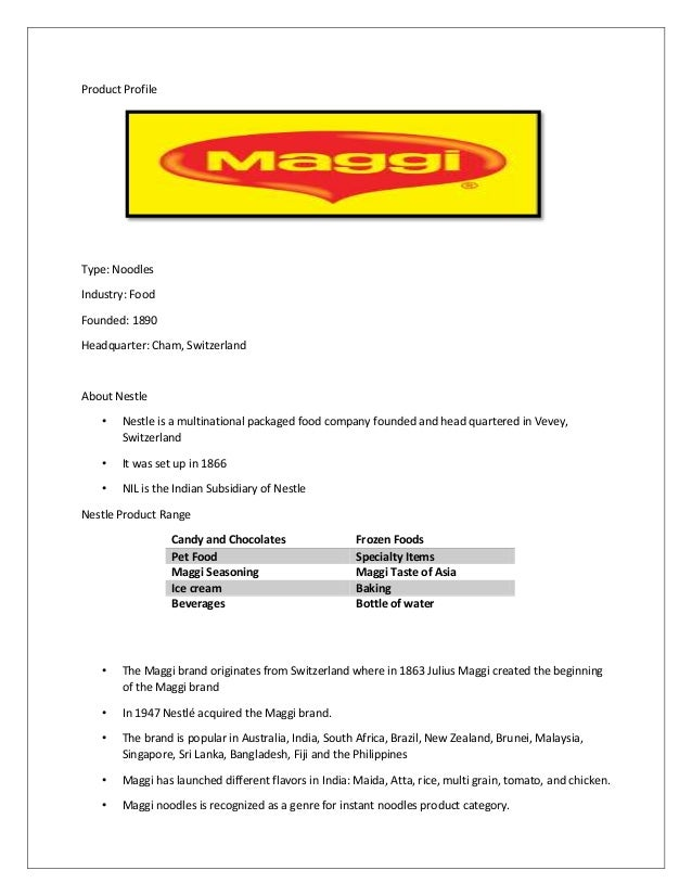 consumer buying behavior of maggi We have tried to show a general 'consumer buying behaviour' with this video  what is consumer buying behavior (bba,  nestle's maggi in india : .