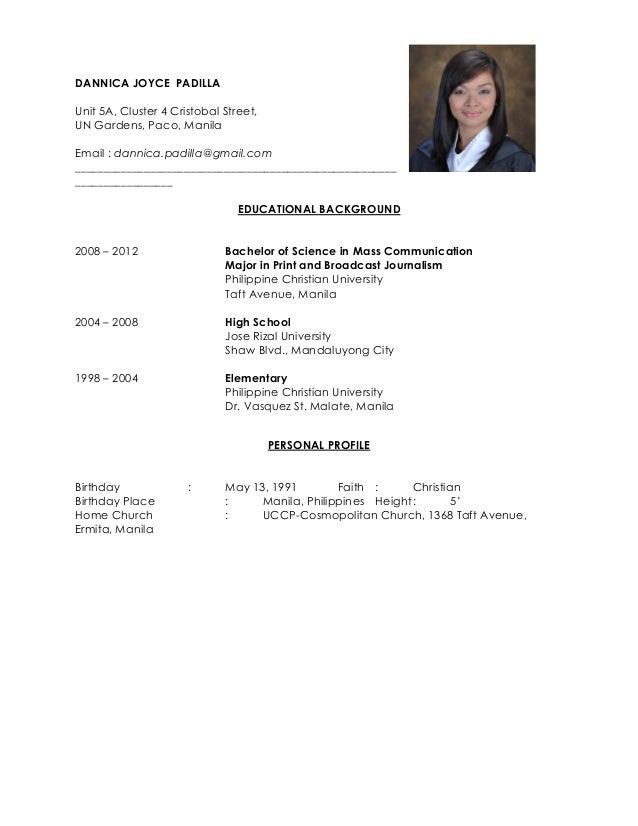 Djpadilla Resume