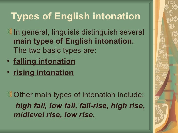 english intonation Definition of intonation in the audioenglishorg dictionary meaning of intonation what does intonation mean proper usage and pronunciation (in phonetic transcription) of the word intonation.