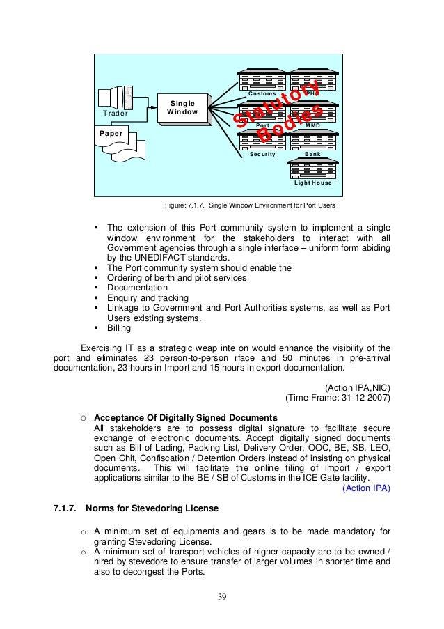 Import export procedure flowchart 45 publicscrutiny Choice Image