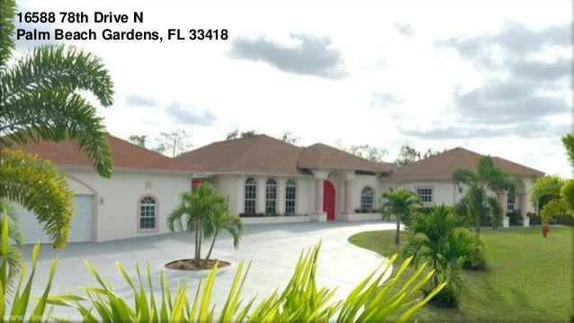 Palm Beach Gardens Florida Home For Sale 16588 78th Drive N Palm Be