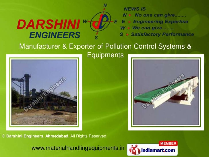 Manufacturer & Exporter of Pollution Control Systems & Equipments<br />