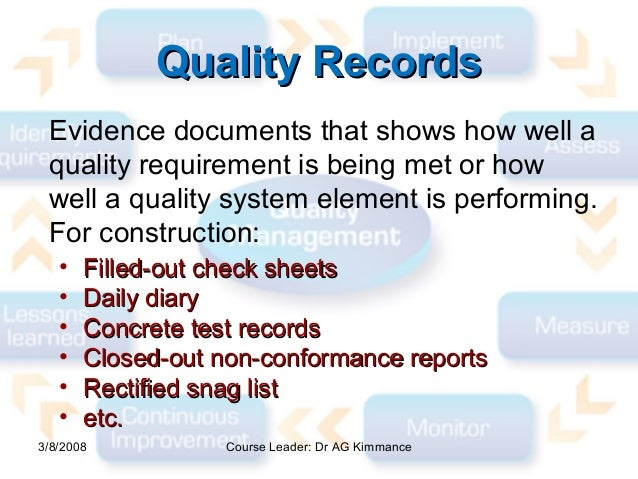 Managing Quality Lecture 1