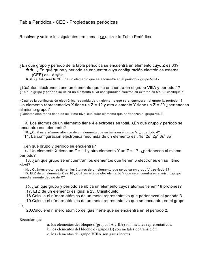 3 problemas tabla peridica cee q blog tabla peridica cee propiedades peridicas resolver y validar los siguientes problemas sin utilizar la urtaz Image collections