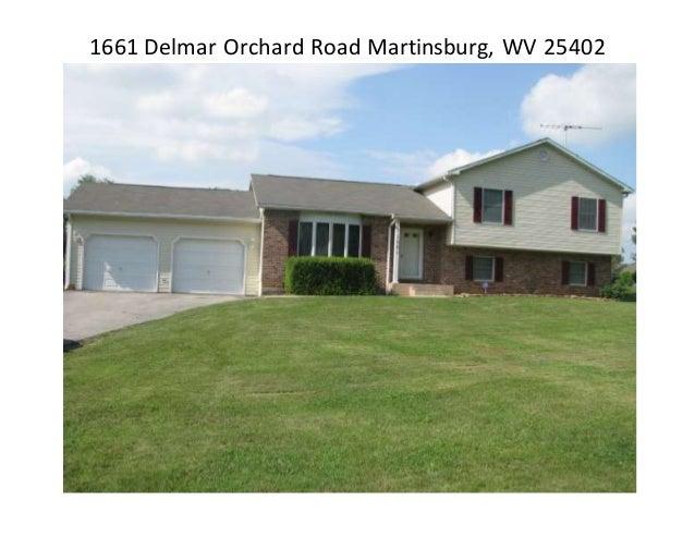 1661 Delmar Orchard Road Martinsburg, WV 25402