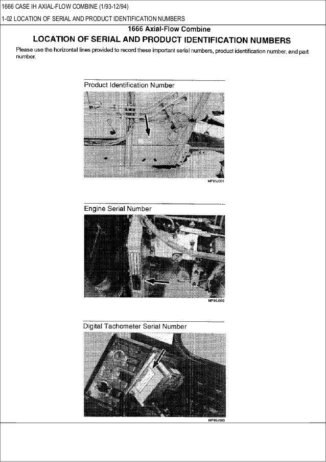 Combine Parts Of The Slideshow : Case ih axial flow combine parts catalog