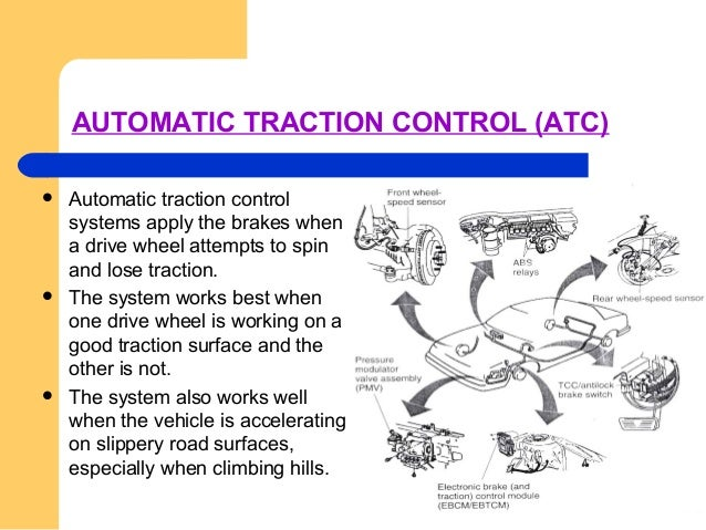 AUTOMATIC STABILITY CONTROL  Stability control systems momentarily apply the brakes at any one wheel to correct over stee...