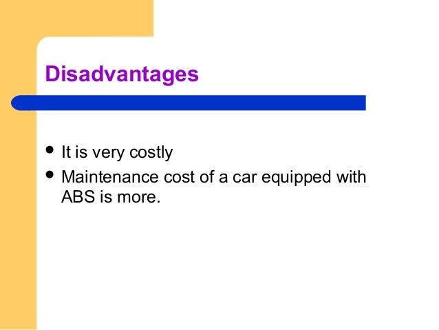 Conclusion  Statistics show that approximately 40 % of automobile accidents are due to skidding.  These problems commonl...