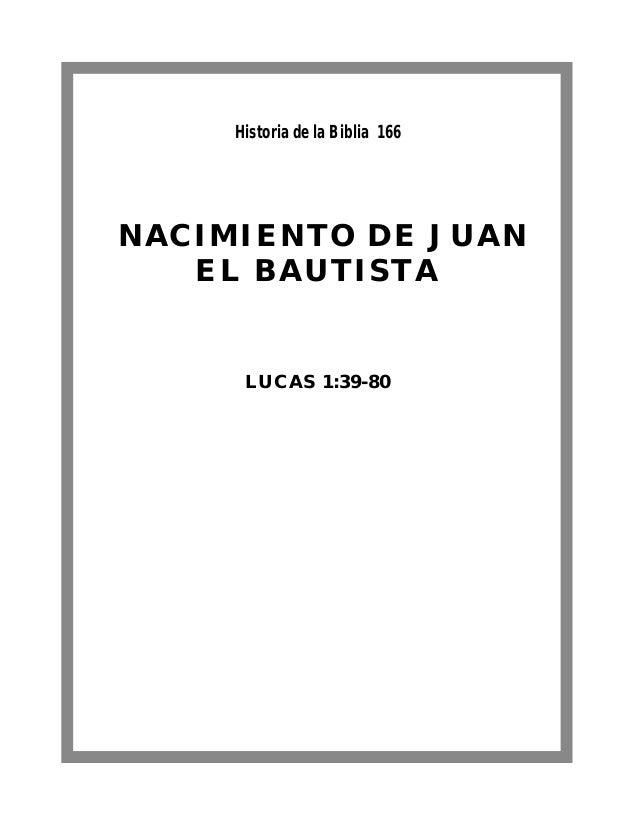 166 nacimiento de juan bautista