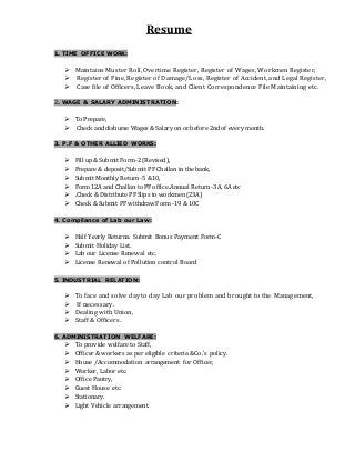 sample resume with salary requirements