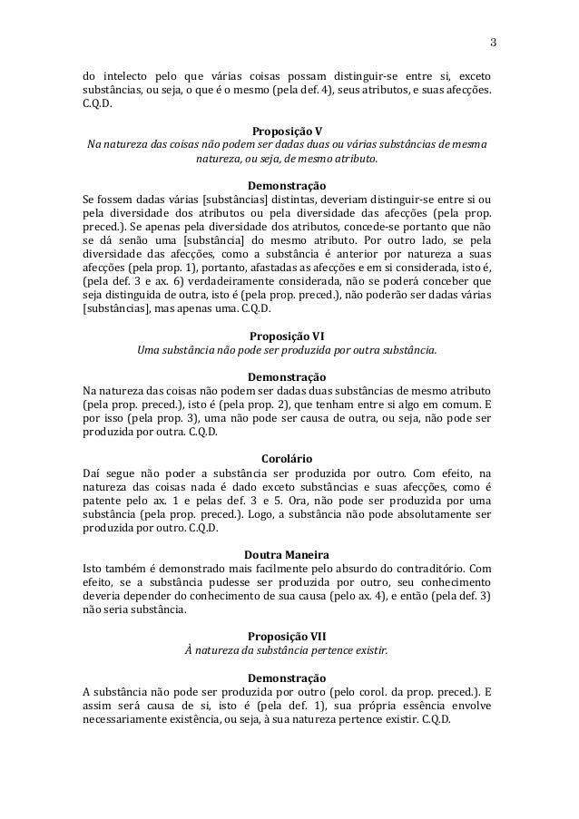 A Ética - Espinosa Slide 3