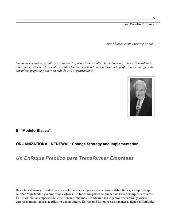 A                                                                               utor: Rodolfo E. Biasca                   ...