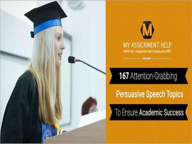 attention grabber for stress speech
