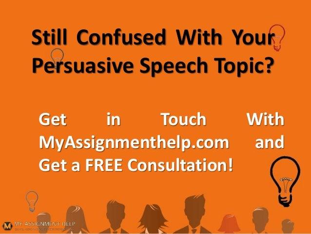 academic speech topics