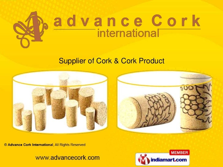 Supplier of Cork & Cork Product