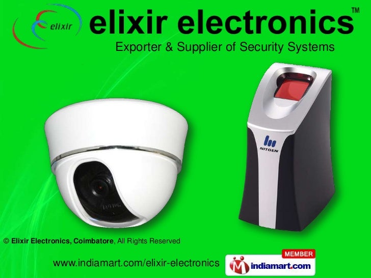 Exporter & Supplier of Security Systems<br />