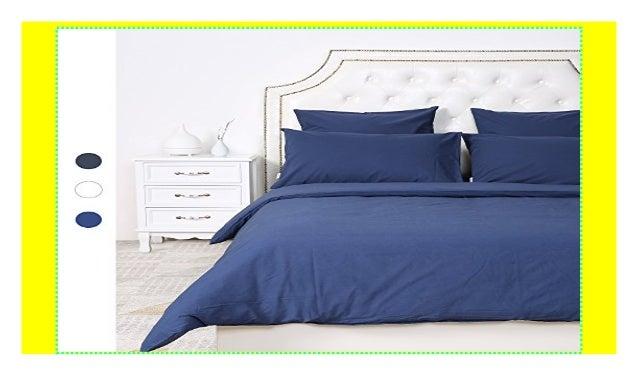 Homfy 100 Baumwolle Bettwäsche Ein Bettbezug 200x220 Cm Im Set Mit