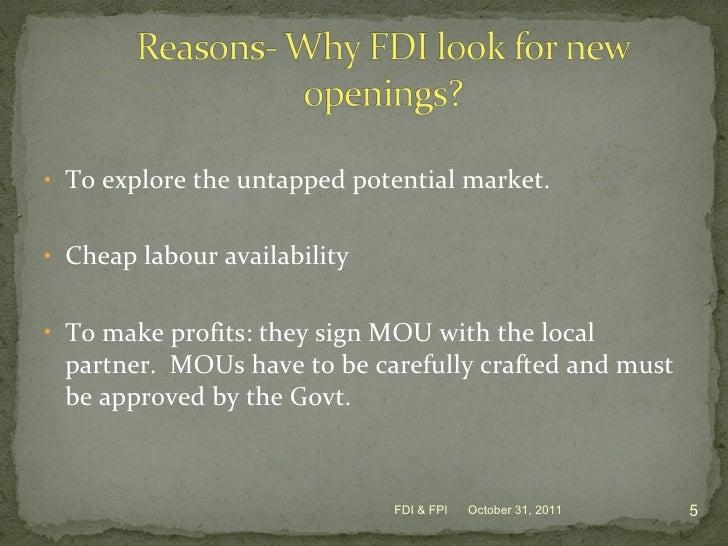 relationship between fdi and fpi