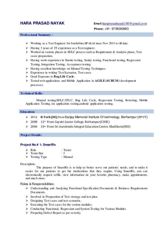 beautiful mobile app testing resume images simple resume office
