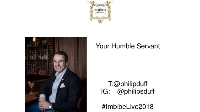 Imbibe Live London 2018 Six Vermouths You Have To Try Slide 2
