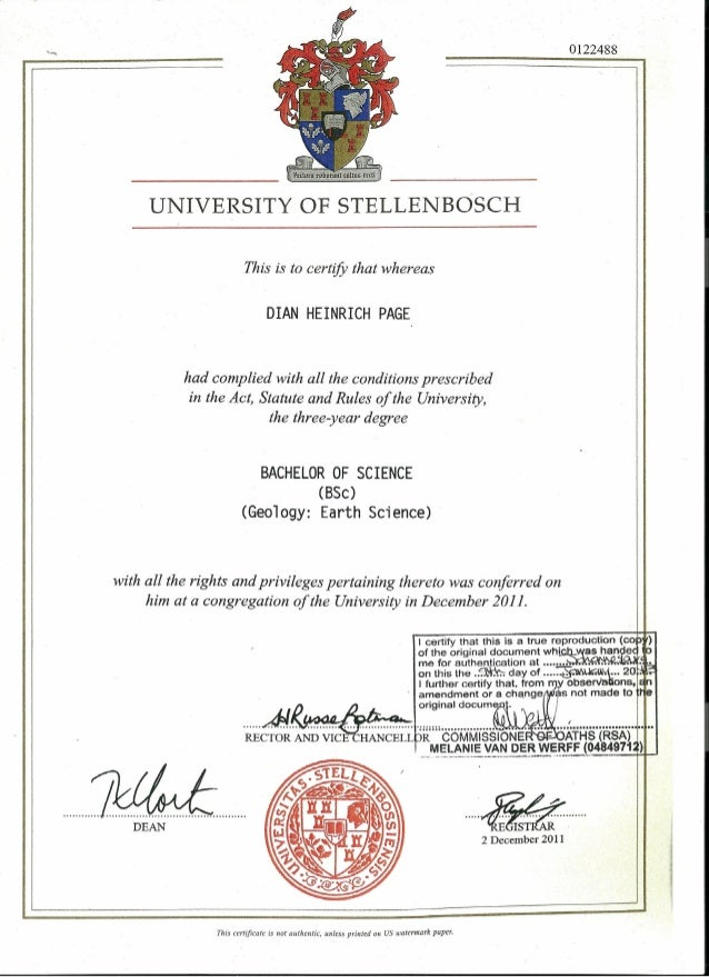 DH_Page_Certified BSc Geo degree