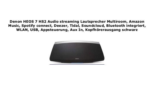 Denon HEOS 7 HS2 Audio streaming Lautsprecher Multiroom, Amazon Music…