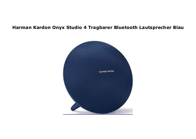 Harman Kardon Onyx Studio 4 Tragbarer Bluetooth