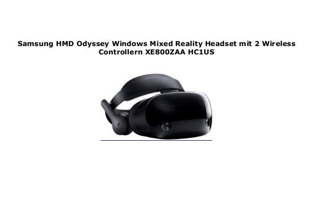 Samsung HMD Odyssey Windows Mixed Reality Headset mit 2