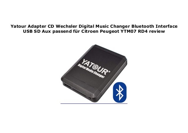 Citroen Rd4 Bluetooth Upgrade